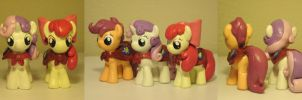 The Cutie Mark Crusaders My Little Pony FiM by Blackout-Comix