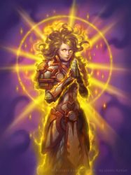 Paragon of Light for Hearthstone: The Witchwood by namesjames