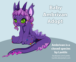 CLOSED AUCTION Lilac Baby Adopt by iLantiis