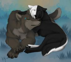 Thats what friends are for by Bear-hybrid