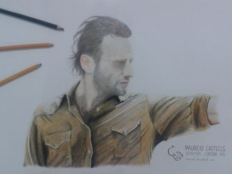 Rick Grimes (The Walking Dead) by mauriart