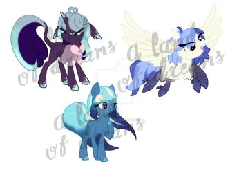 Moonstruck Mare My Little Pony Adoptables OPEN by A-Land-of-Dreams