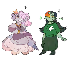 Homestuck Girls! (AUCTION - CLOSED) by ClericlyDepressed