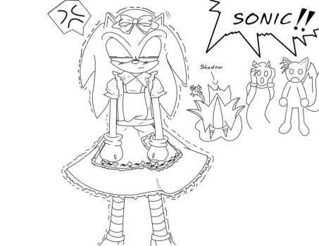 sonic is alice 2 by hinaychibi