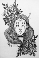 Flower Girl by SneakyKlaus