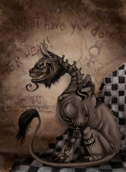 Alice Madness Returns - Cheshire Cat by LadyFiszi