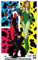 Gotham City Sirens by Gigatoast
