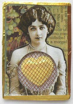 Caged Heart ATC by hogret