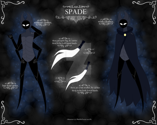 REF | Hollow Knight OC | Spade by MarbleForest