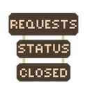 Requests Closed Signs by Meadows-Resources