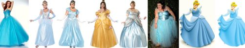 Cinderella dresses for the rounder lady by EnergyToBeauty