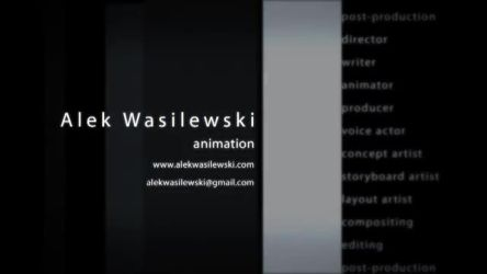 Alek Wasilewski 2012 Animation Showreel