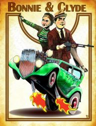 Bonnie And Clyde by tim12s