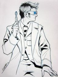Bmore 2012: 10th Doctor by stratosmacca