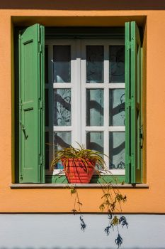 Green window by RetRaw