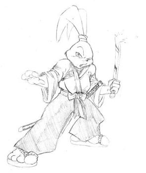 Usagi Yojimbo by Y2Dane