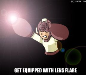 Get Equipped With Lens Flare by General-RADIX