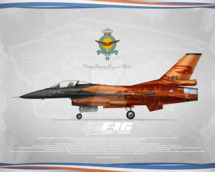 Profile F-16 Solo Display Team RNLAF by LPBS2012