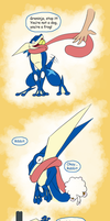 Greninja you're hilarious