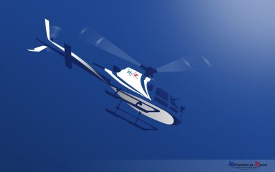 Helicopter vector by Zardom002