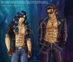 Guyver  Mirabilis and Aptom -sexy mode on by Lucithea