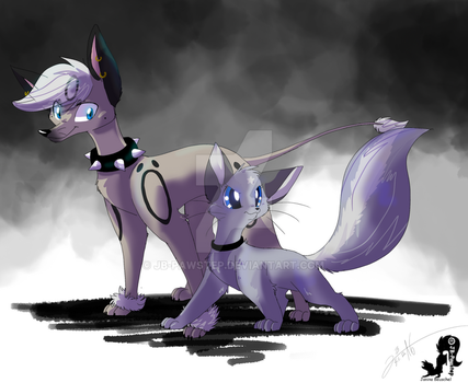 Hand in Hand by JB-Pawstep
