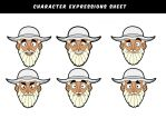Fisherman facial expressions by X-Factorism