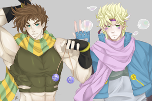 Battle Tendency by HaLeaHana