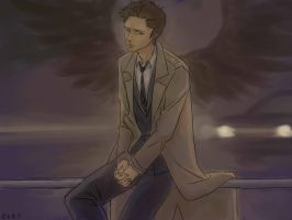 Castiel the Holy Angel by GH18