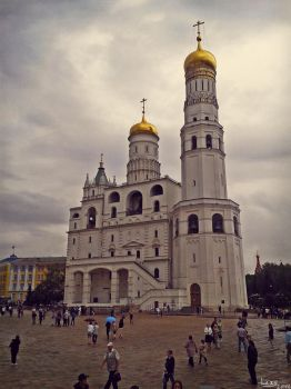 The Ivan the Great Bell Tower, Moscow by Madness-Of-Eclipse