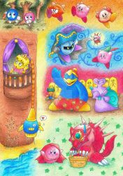 Kirby's fairy tales by gerugeon