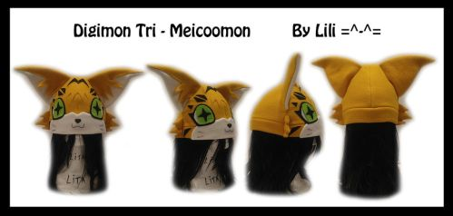 Digimon - Meicoomon Hat by LiliNeko