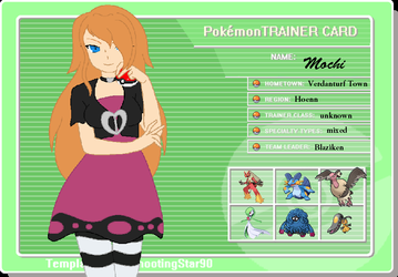 Trainer Card Thing by VeronicaPrower