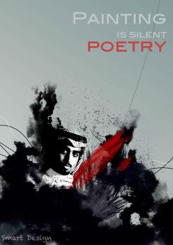 Painting is silent poetry by I-am-Butterfly