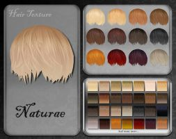 MMD Naturae Hair Texture by Xoriu