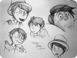 OnceLer Sketches by TheClau