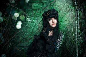 Into deep green 1 by Morgennebel08