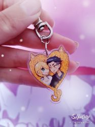 Moar Yuri on ice charms by Atobe333