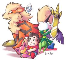Steven the Pokemon Trainer by Mr-Pidge