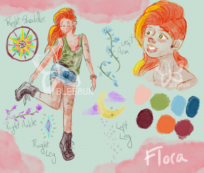 Flora adoptable auction by BLebrun