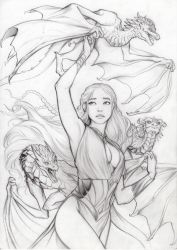 Daenerys Pencil by ritam