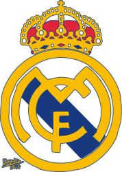 Real madrid logo Vector by Dayumbruh