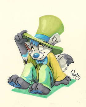 Freezy Mad Hatter by pandapaco