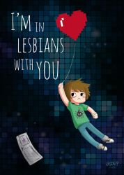 I'm in lesbians with you - Valentine's Day by GuatdefakStudio