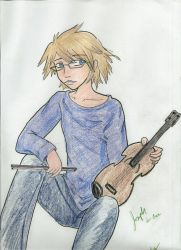 Joseph and his Violin - complete by Ani-Meg