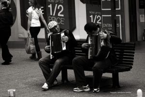 Accordionists by DorianStretton