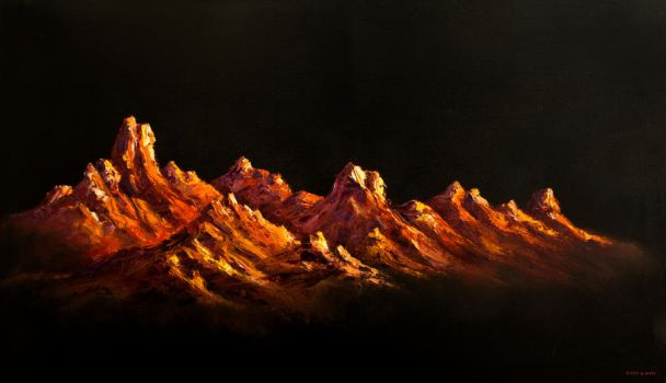 Mountains no.2 by FaultyGrapes