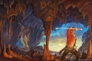 'A Memory of Light' cover by Michael Whelan by ArcangHell