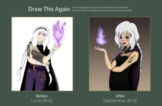 Draw This Again - Sorceress by AtticCreationz2