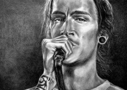 Brandon Boyd of Incubus by lisasuriani